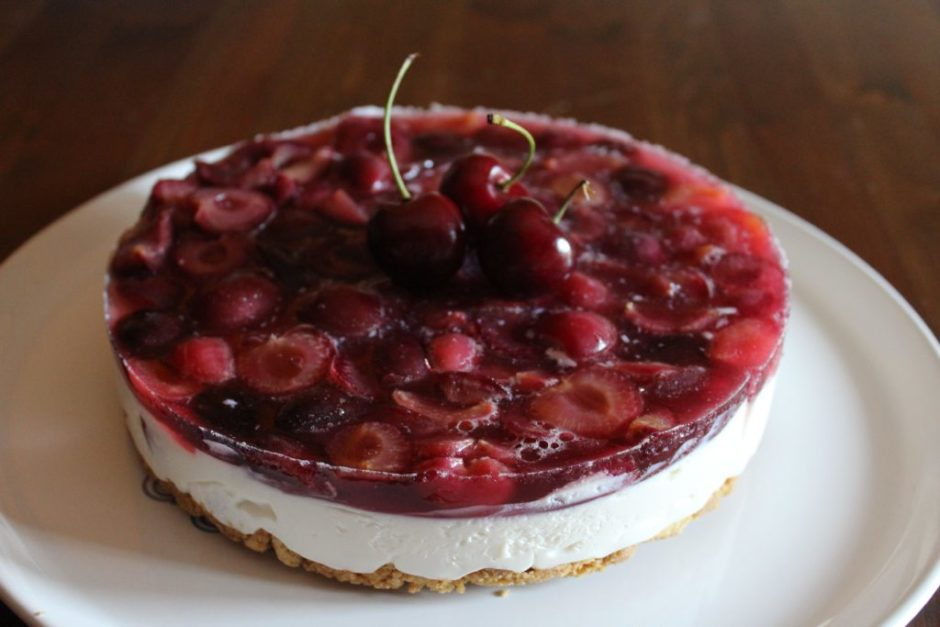 cheesecake alle ciliege