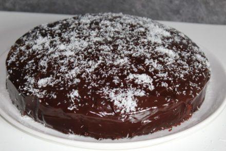 torta cocco e cioccolato fondente