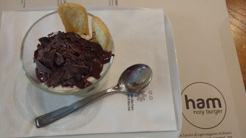 crema al mascarpone con cioccolata calda