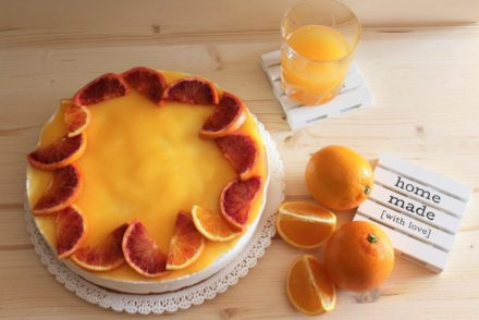 mousse cake all'arancia