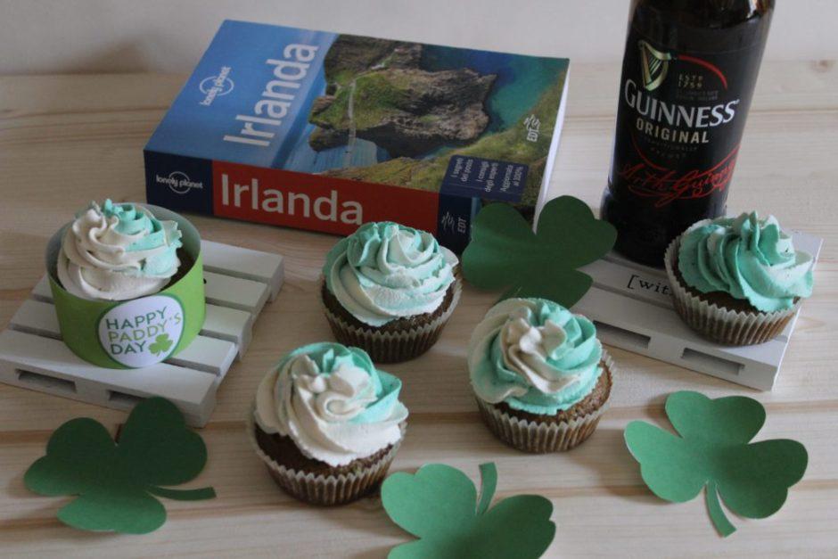 cupcake alla birra irlandese
