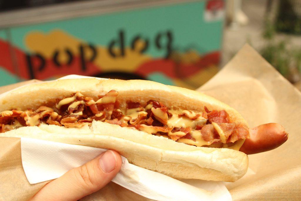 hot chili dog