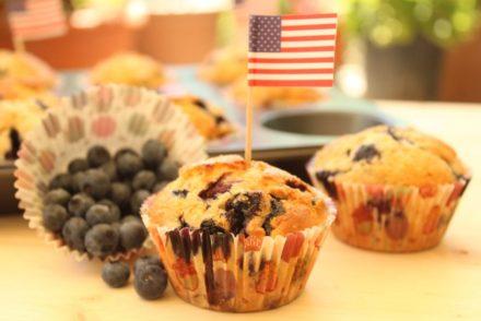 muffin ai mirtilli e yogurt