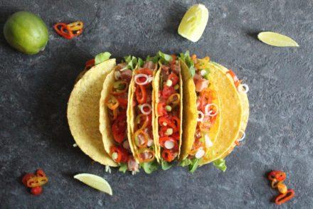 tacos di tonno