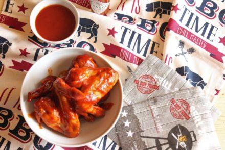 alette di pollo in salsa piccante