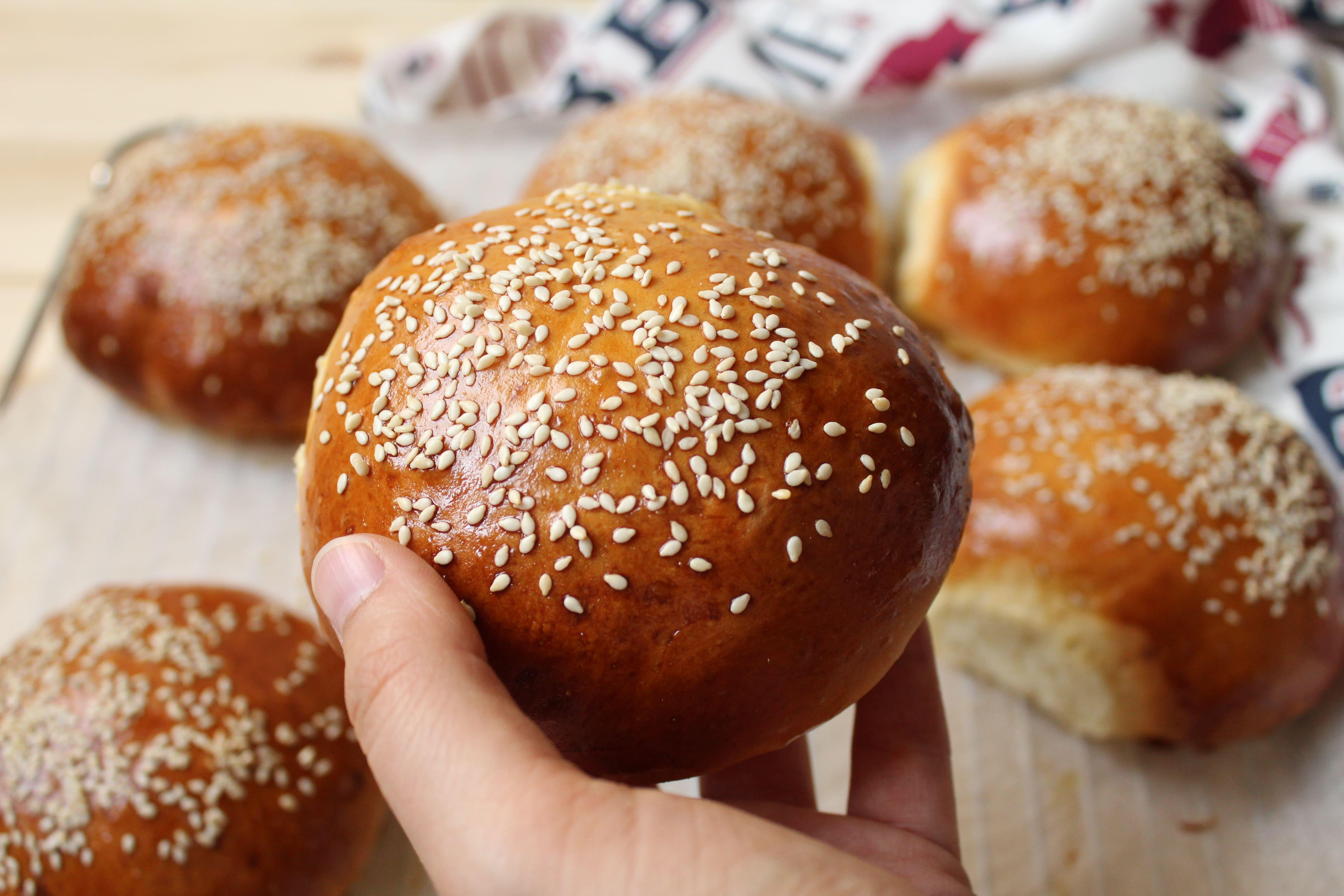 come fare dei buns perfetti per hamburger