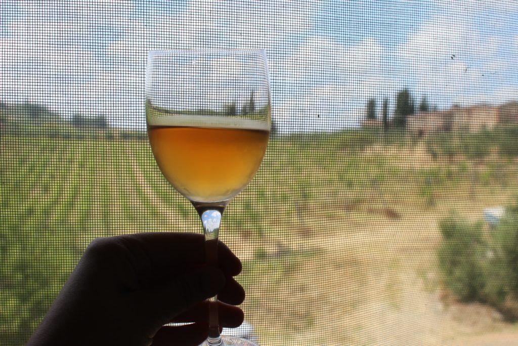 orange wine valdelsa