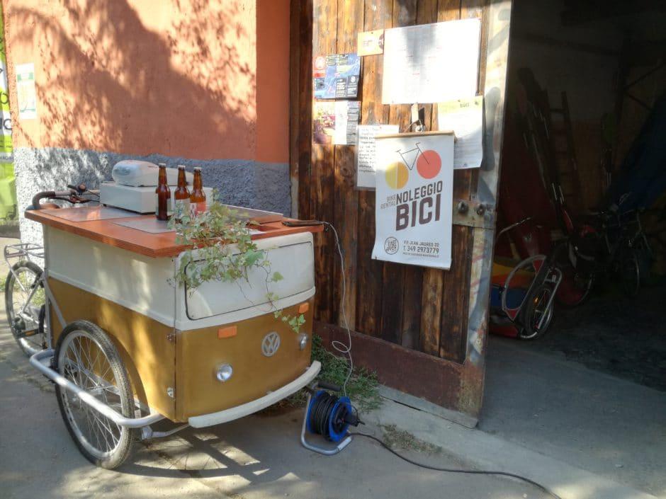 bici tra microbirrifici sulla martesana