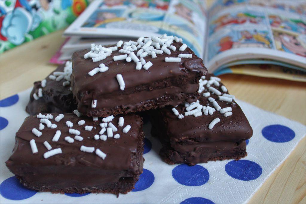 merendine al cioccolato e banane