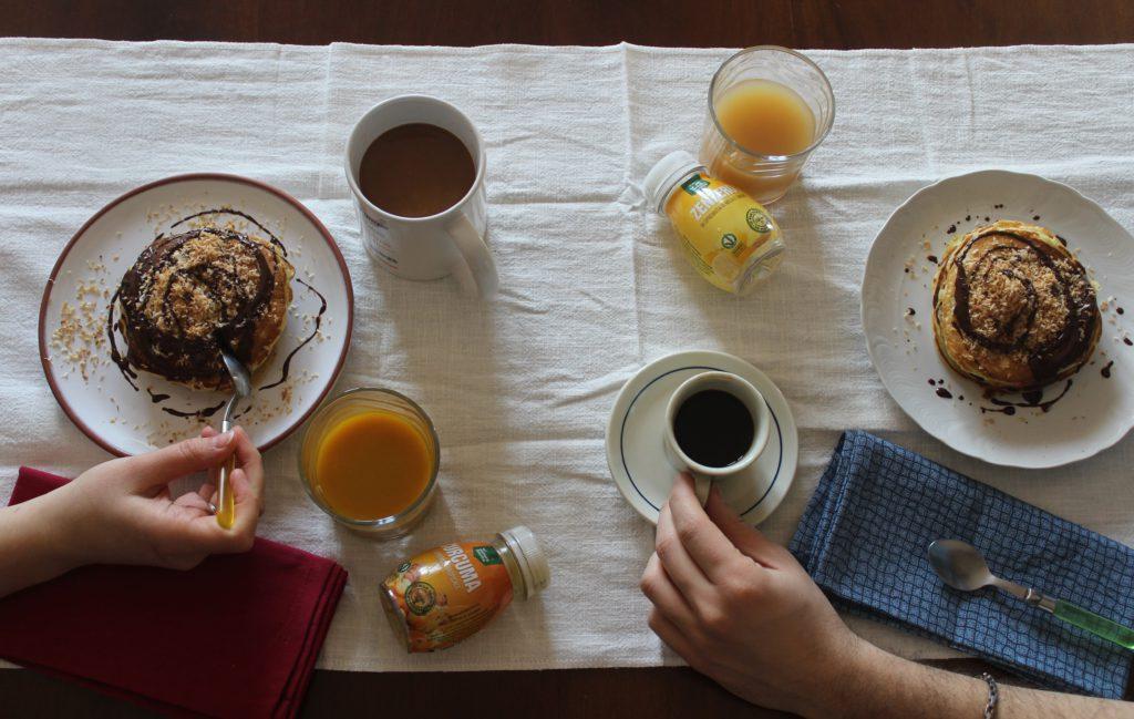colazione con pancakes