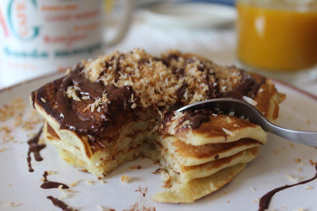 fetta di pancakes