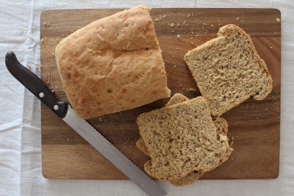 fette di pane in cassetta