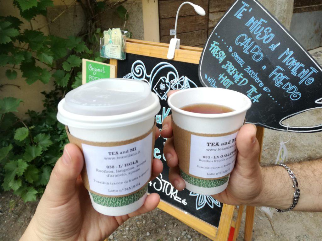 tè da passeggio a milano