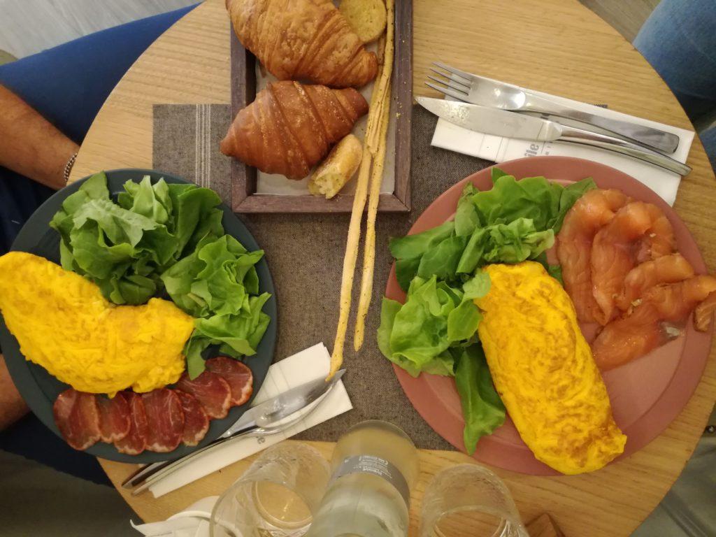 omelette brunch ile douce