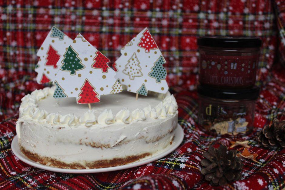 torta natalizia al miele di castagno