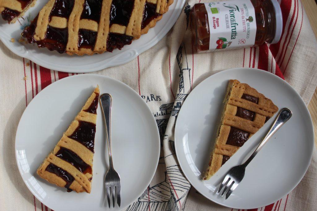 crostata alla frutta e Nutella
