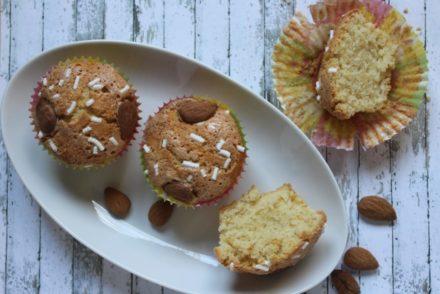 muffin alle mandorle post-pasqua