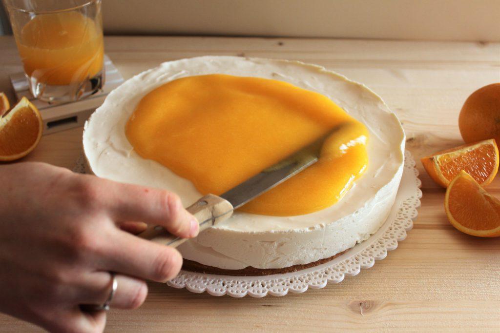 preparazione mousse cake