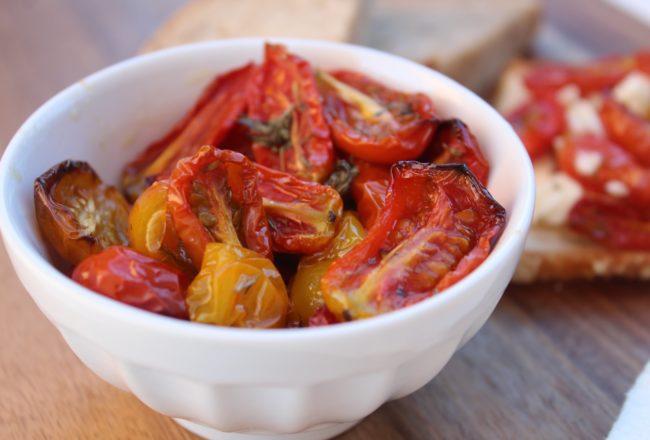 pomodorini confit sott'olio