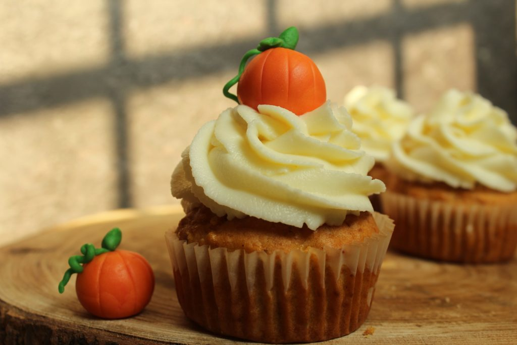 carrott cupcake per halloween