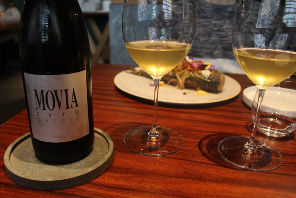 vino sloveno movia