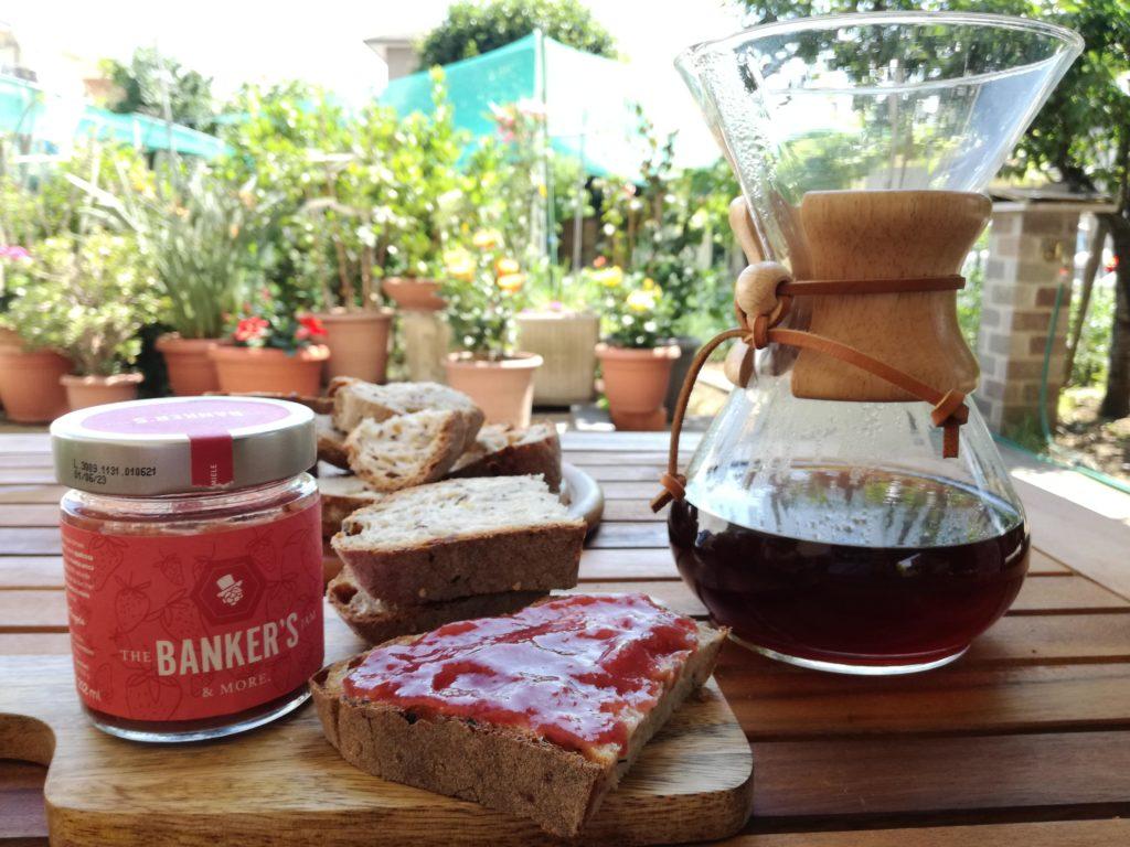 brunch con banker's jam e caffè 124