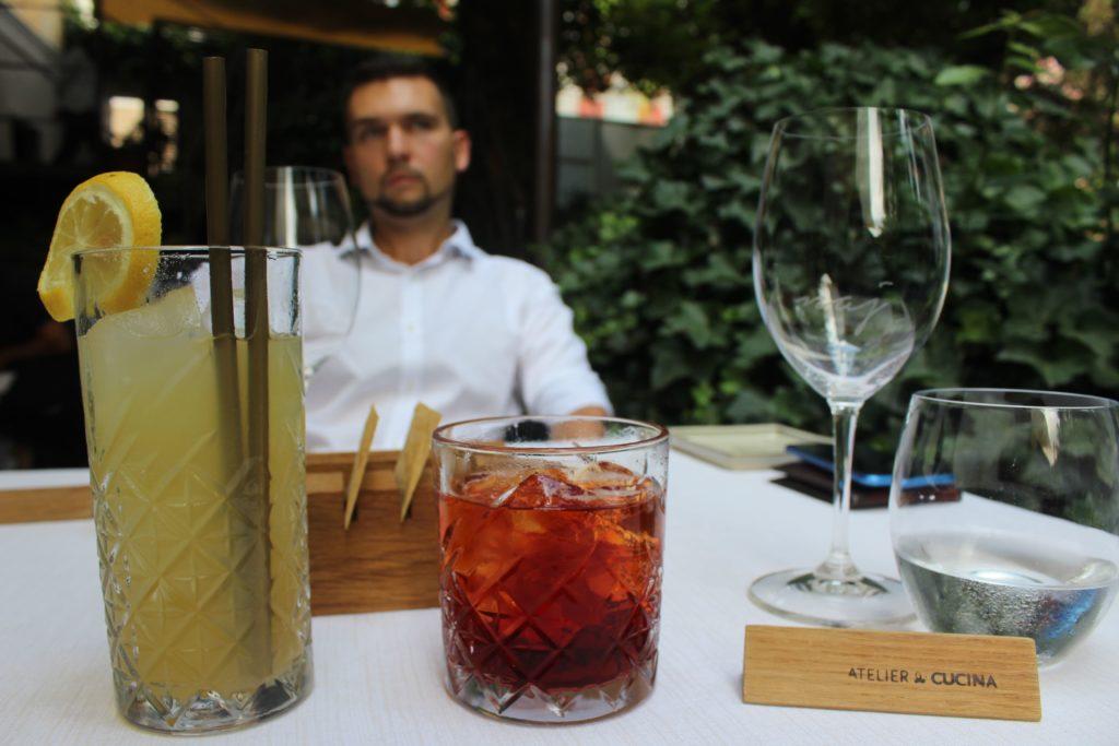 aperitivo a villa naj